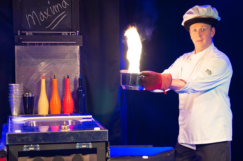 jongleur, jeroen, vuur